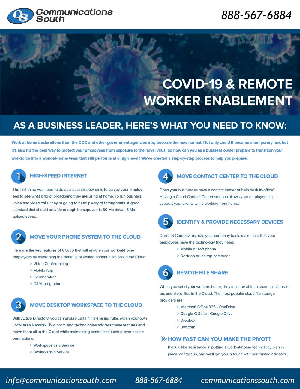 COVID-19 & Remote Worker Enablement